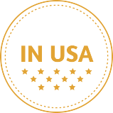 Badge made in USA